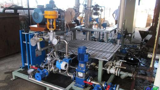 خط تولید قیر در قزوین | قیر| نیل پالا